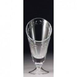 Glass Wreath Vase 250mm