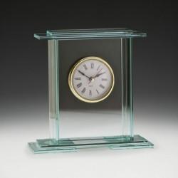 Empire Glass Clock 140mm