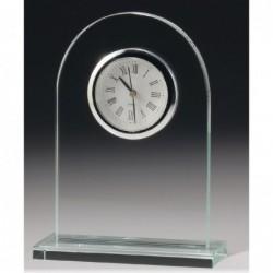 Executive Glass Clock 165mm