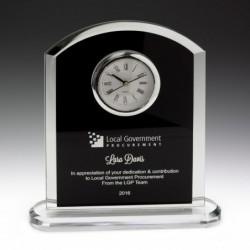 Pax Glass Clock 185mm