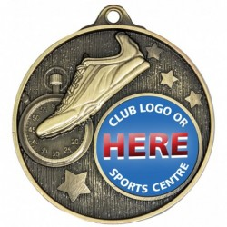 Club Medal Track Gold
