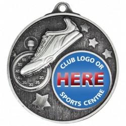 Club Medal Track Silver