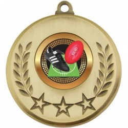 Laurel Medal Aussie Rules Gold