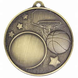 Club Medal Basketball Gold