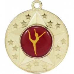 Stars Medal Dance Gold