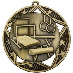 Gymnastics Galaxy Medal Gold