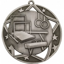 Gymnastics Galaxy Medal Silver