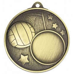 Club Medal Netball Gold