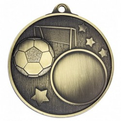 Club Medal Soccer Gold