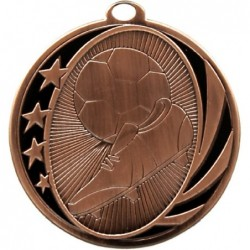 Soccer Midnight Medal Bronze
