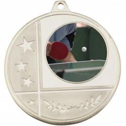 Glacier Medal 25mm Silver