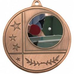 Glacier Medal 25mm Bronze