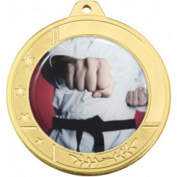 Glacier Medal 50mm Gold