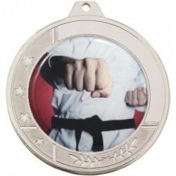 Glacier Medal 50mm Silver