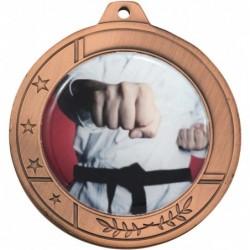 Glacier Medal 50mm Bronze