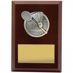 Plaque Peak Badminton 150mm