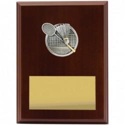 Plaque Peak Badminton 200mm