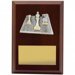 Plaque Peak Chess 150mm