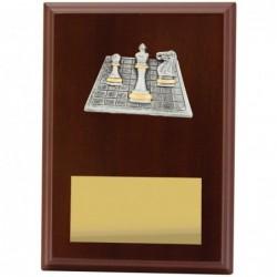 Plaque Peak Chess 175mm