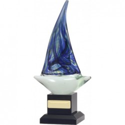 Art Glass Sailing 245mm
