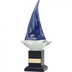 Art Glass Sailing 265mm
