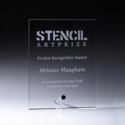 Acrylic Precision Plaque 200mm