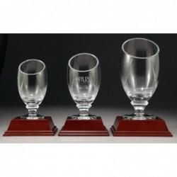Glass Vase 185mm
