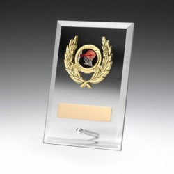 Clear Glass Plaque 175mm