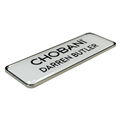 Metal Name Badge - with...