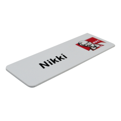 Printed Name Badge - with...