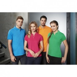 Ladies Neon Polo Shirt