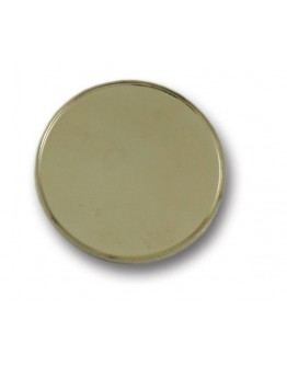 Resin domed products