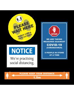 COVID-19 Signage