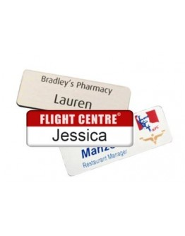 Printed Name Badges